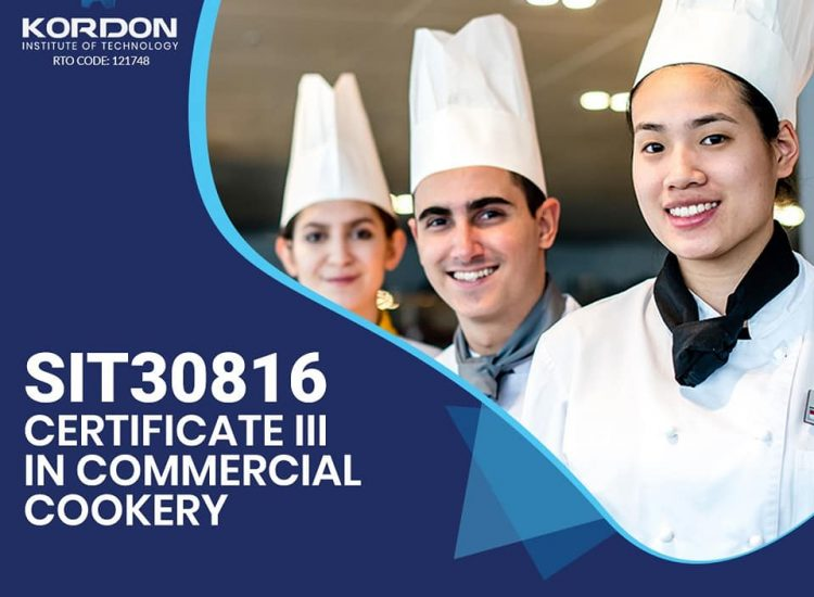 SIT30816 – Certificate III in Commercial Cookery