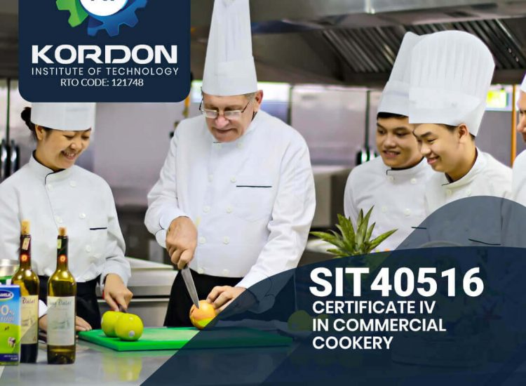 SIT40516 – Certificate IV in Commercial Cookery